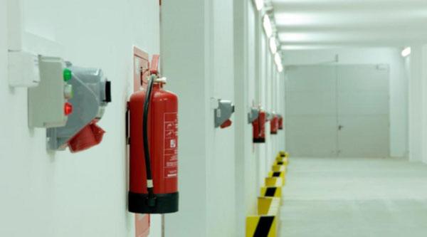 Автоматическая система пожарной сигнализации и пожаротушения